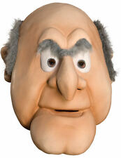 Adult The Muppets Deluxe Statler Grumpy Old Man Fancy Dress Costume Mask