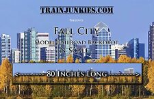 "TrainJunkies N Scale  Fall City 12x80""  C-10 Brand New"