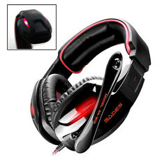 Sades SA-902 7.1 Surround Sound Effect USB Gaming Headset Headphone with Mic