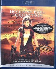 RESIDENT EVIL: EXTINCTION - BLURAY Come Nuovo