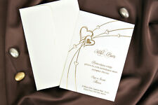 100 BLANK INVITATIONS WITH ENVELOPES (30086)