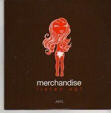 (AZ798) Merchandise, Listen Up! - DJ CD