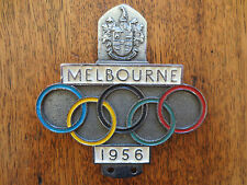 1956 Melbourne Olympics car badge for Ford Holden Chev Austin Morris Rover MG
