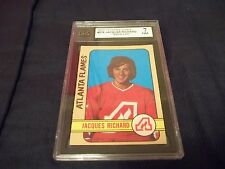 1972-73 OPC O-Pee-Chee #279 Jacques Richard Rookie Atlanta Flames - KSA 7 NM