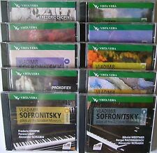 SOFRONITSKY IN SCRIABIN MUSEUM COMPLETE VISTA VERA RECORDINGS 10CD RUS NEW