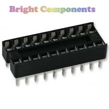 10 x Brand New 20 Pin DIL DIP IC Socket - 1st CLASS POST