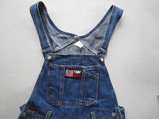VINTAGE US Tommy Jeans 90s Overalls Bib Coverall Size M Medium Made in USA