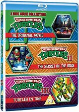 *Teenage Mutant Ninja Turtles: The Movie Collection - Blu ray NEW SEALED 3 Discs