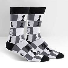 Sock It To Me Men's Crew Socks - Checkmate