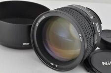 Nikon AF NIKKOR 85mm F1.4D Lens for F Mount with Metal Hood EXCELLENT #170125a