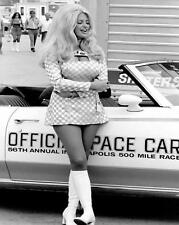 Beautiful Hot Sexy Drag Racing Linda Vaughn 1970's Pin Up  8x10 Print