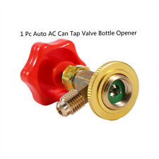 "Car M14/1/4"" SAE R134a Air Refrigerant AC Can Tap Valve Bottle Opener Kit UTRD"