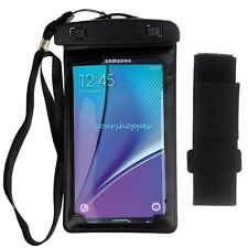 Black Waterproof Pouch Dry Bag For Samsung Galaxy Note 5/Note Edge/GALAXY A8/S6