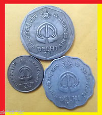 ASIAD 1982 COMMEMORATIVE SET * GOOD CONDITION COINS * UNIQUE SET $$$$ INVESTMENT