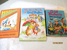 Enid Blyton bulk lot of 3 LARGE HC High Adventure BIG STORYBOOK Best RENE CLOKE