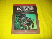 B 1-9 IN SEARCH OF ADVENTURE DUNGEONS & DRAGONS TSR 9190 SUPERMODULE 2