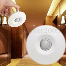 360° Infrared IR Ceiling Wall Recessed Body Motion Sensor Detector Light Switch