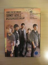SHINEE The 1st Concert in Seoul SHINee WORLD 2 DVD + Photobook + Folded poster