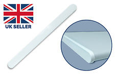 Internal Window Board Cill Double Ended Sill Windowboard 300mm End Cap - White
