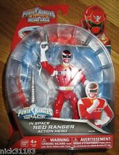 Power Rangers Super Megaforce 2014 IN SPACE RED RANGER 38218 RARE NEW!