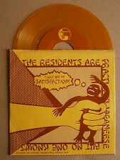 "7"" The Residents Satisfaction Us Ralph Records Yellow Wax Rolling Stones 1978"