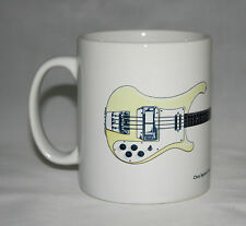 Guitar Mug. Chris Squire's Rickenbacker RM1999 Bass Illustration.
