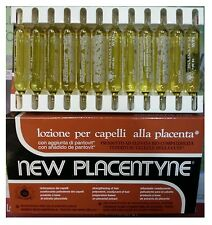 Placenta Hair Treatment Lotion 10ml (12 Ampouls) Original/Brown