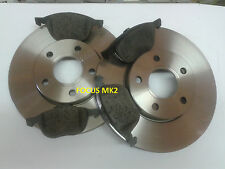 Focus MK2 Front Discs Vented and Pads1.4,1.6,1.6TDCi 1.8,2.0 TDCi '04-'11. .