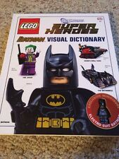 LEGO Batman Visual Dictionary + Exclusive Electro Suit Figure DC Super Heroes