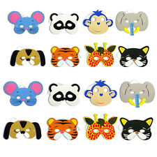 10pcs Foam Animal Masks All Occasions Birthday Party Bag Filler Toy for Children