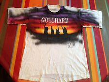 GOTTHARD, wt Steve Lee, Handmade Limited edition 3/1000, XL,VERY RARE rock shirt
