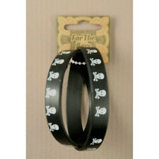 childrens rubber stretch skull bracelets
