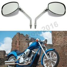 10MM CHROME MOTORCYCLE REAR VIEW SIDE MIRRORS FOR HONDA Shadow 750 VTX1300C/R/T