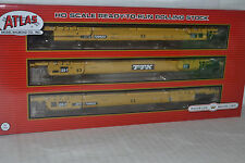 Atlas TTX Thrall 53' Articulated Well 3-Car Unit Ho Scale 20002844