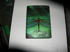 The Mark of the Dragonfly by Jaleigh Johnson (2014, Hardcover) SIGNED 1st/1st