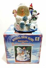 Rudolph The Island Of Misfit Toys Musical Snow Globe