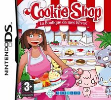 COOKIE SHOP  : LA BOUTIQUE DE MES REVES       -----   pour DS  ---   NINTENDO