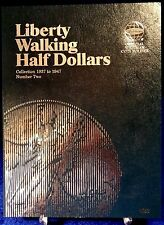 Whitman Liberty Walking Half Dollars #2 1937-1947 Coin Folder, Album book # 9027