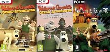 Wallace and Gromits  Grand Adventures episodes 1&2 AND 3&4 + project zoo