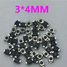 50pcs/lot SMT 3x4MM 2PIN Tactile Tact Push Button Micro Switch G74 Self-reset