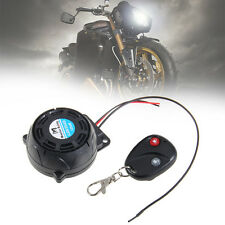 Motorcycle Scooter Anti-theft Security Alarm Remote Vibration Sensor 125db
