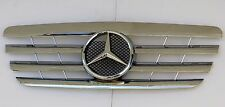 2000-2002 MERCEDES E CLASS W210 CL LOOK SPORT GRILLE CHROME INCLUDING OEM STAR