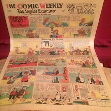 June 27, 1943 Los Angeles Examiner Comics  Prince Valiant, The Phantom RARE