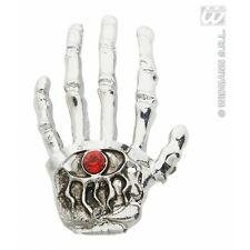 Skeleton Hand Brooches Jewellery for Halloween Fancy Dress Accessory