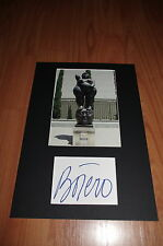 BOTERO signed Autogramm in 20x30 cm Passepartout InPerson in Berlin RAR