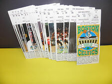 NBA BOSTON CELTICS ''HONOR THE TRADITION FULL SEASON TICKETS (38) BOSTON GARDEN