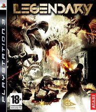 Legendary PS3 Perfetta 1a Edizione Italiana con manuale