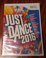 Just Dance 2016 (Nintendo Wii) NEW - Free Fast Shipping