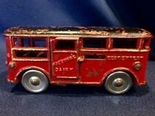 1930's Dent Hardware Cast Iron Freeman's Dairy Milk Delivery Truck Allentown PA