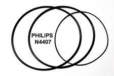 SET CINGHIE PHILIPS N4407 REGISTRATORE A BOBINE BOBINA NUOVE FRESCHE N 4407!!!